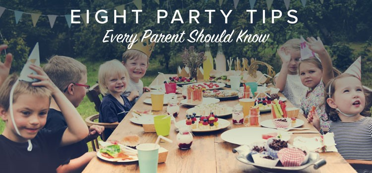 Eight Party Tips
