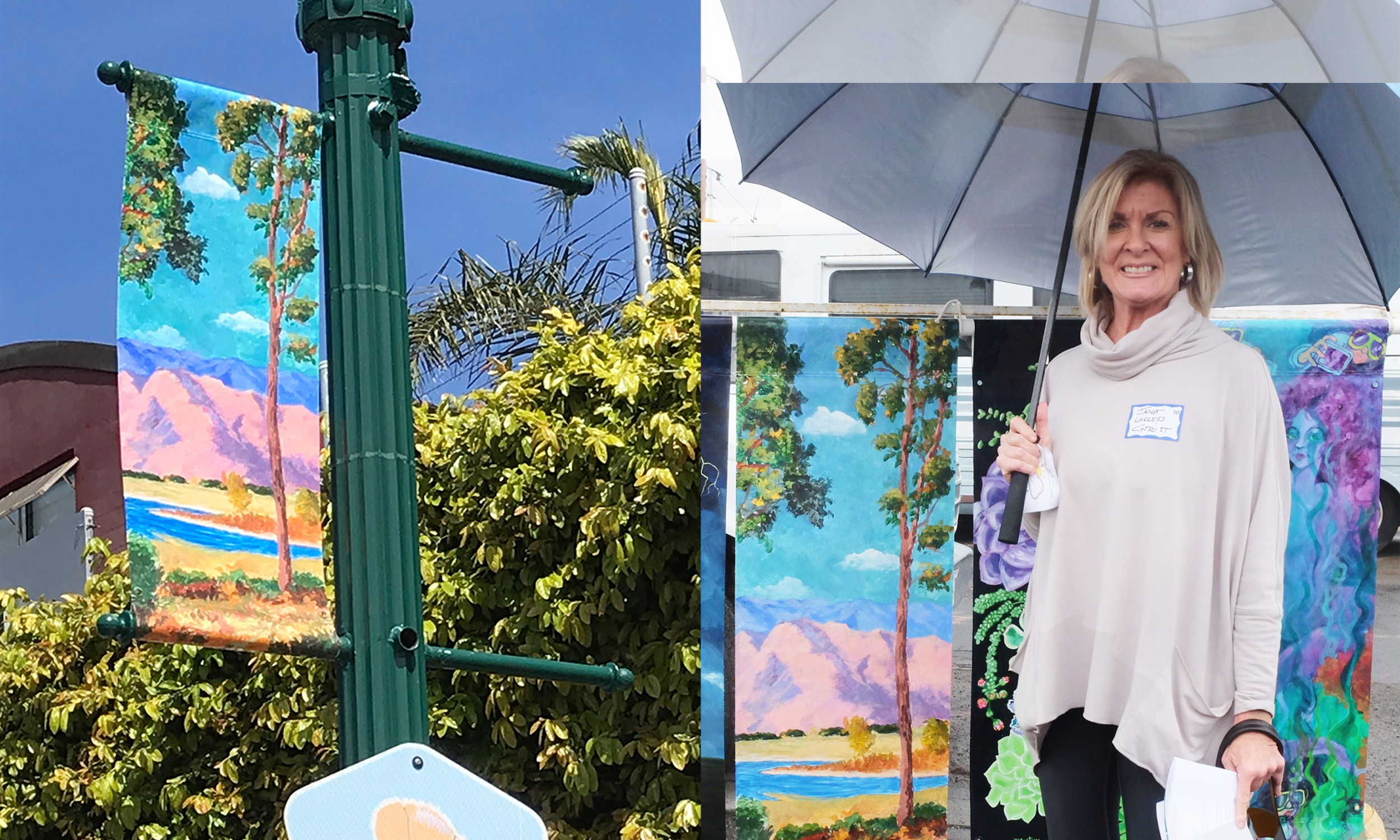 Artist and Realtor Janet Lawless Christ on Local Inspiration