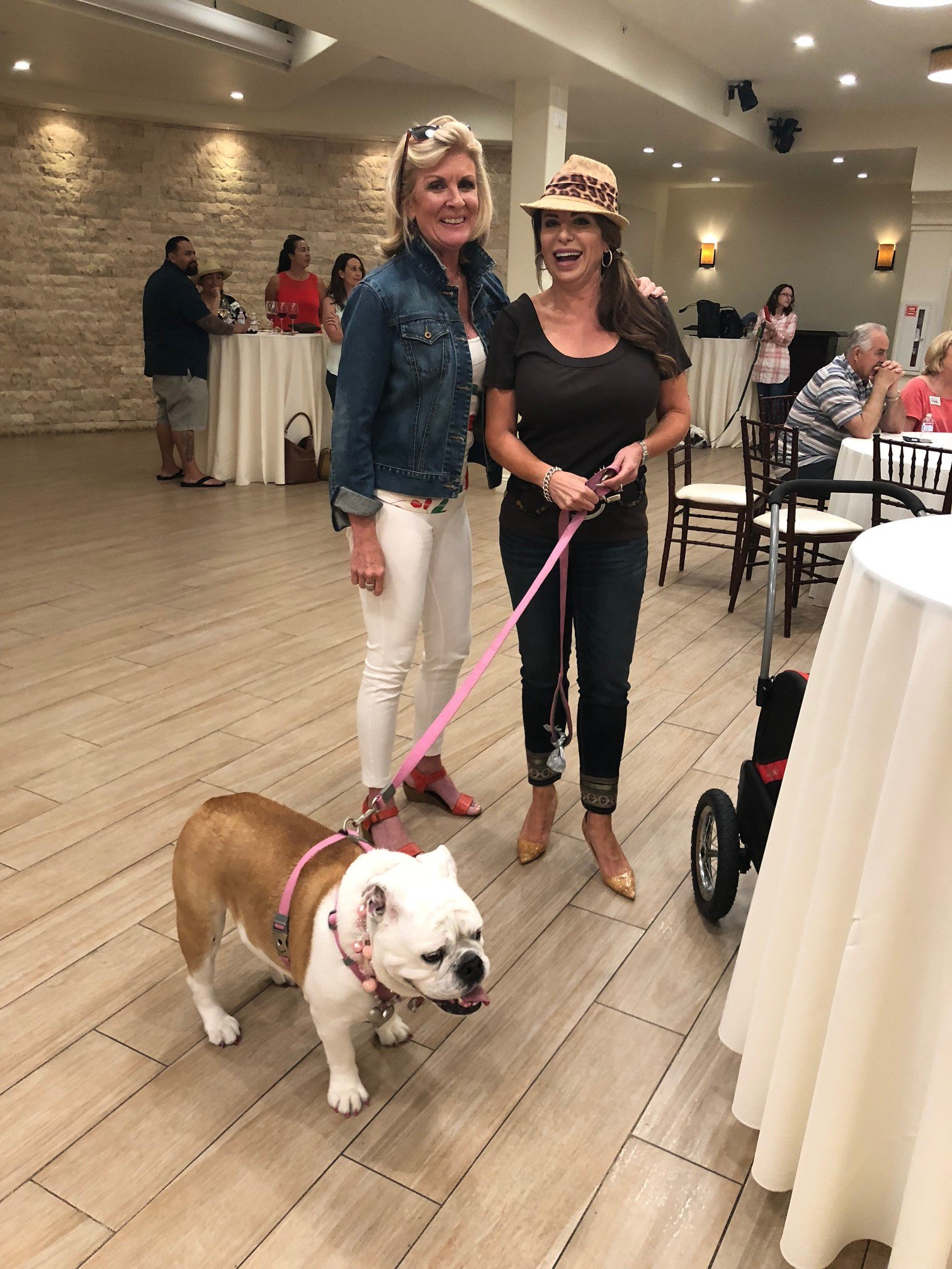 Pays it Forward to Bulldog Rescue Organization